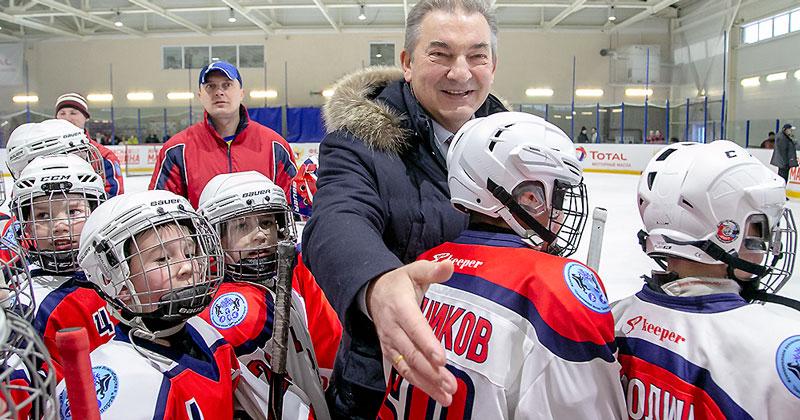 Владислав Третьяк: «Через три года Новосибирск станет центром мирового хоккея»
