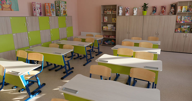 Новая школа открылась в одном из районов Новосибирской области