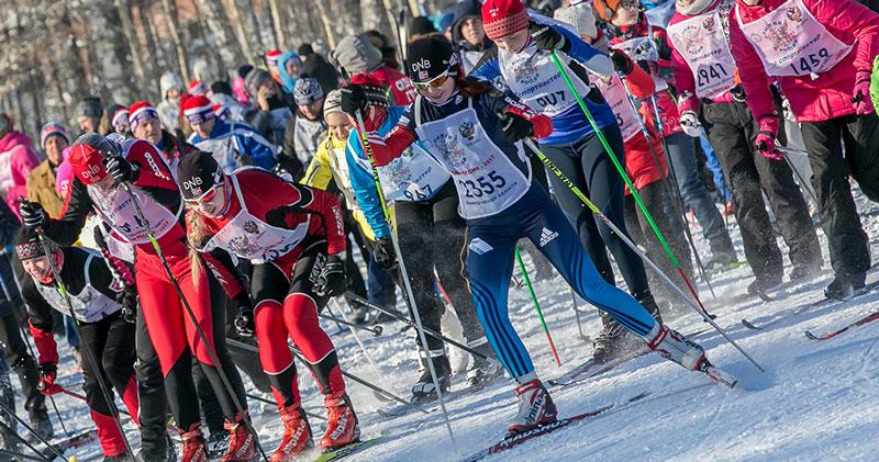 Около 14 тысяч новосибирцев примут участие в «Лыжне России»