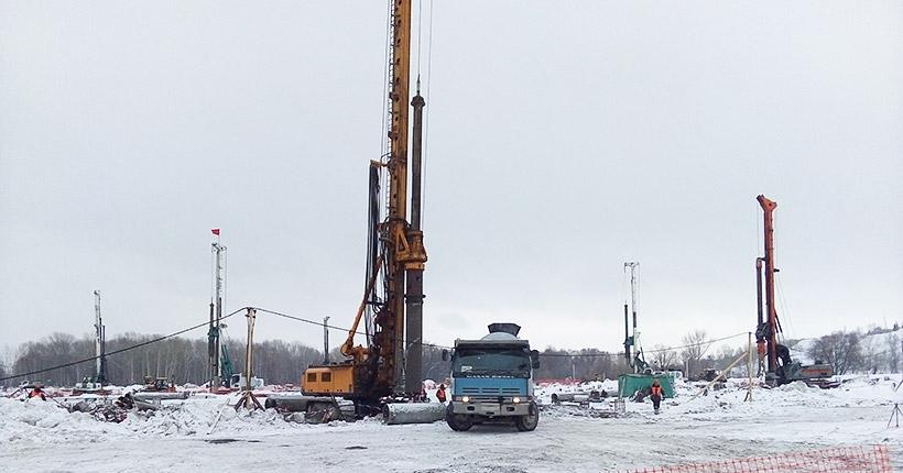 Новосибирский ЛДС не повторит судьбу омского: наши сваи выдержат любую нагрузку