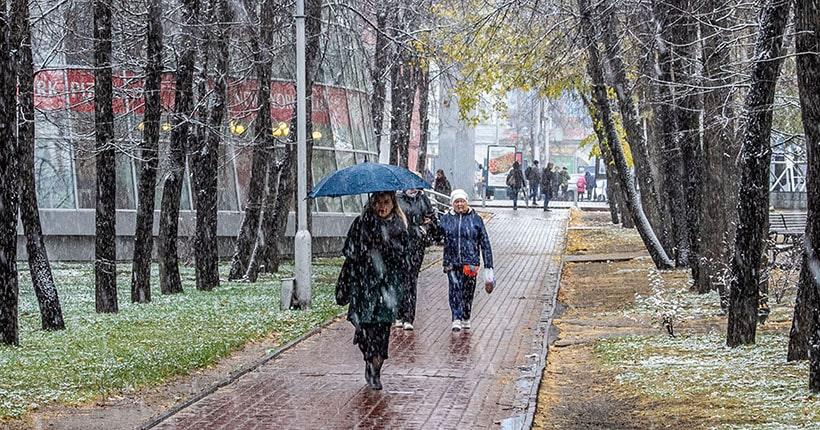 Дожди и метели ожидаются на выходных в Новосибирске