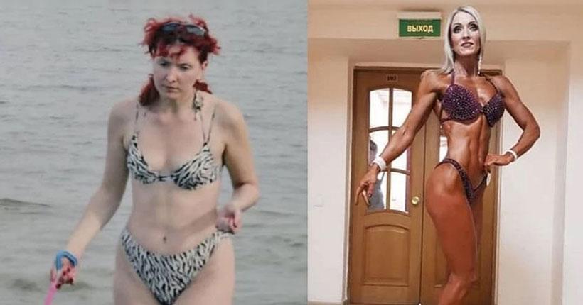 Сибирячка в 46 лет решила стать фитнес-бикини