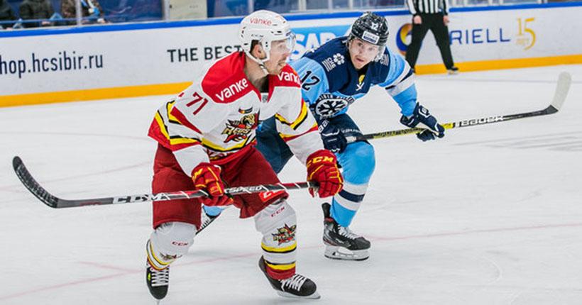 «Не наш хоккей»: «Сибирь» всухую проиграла команде из Китая