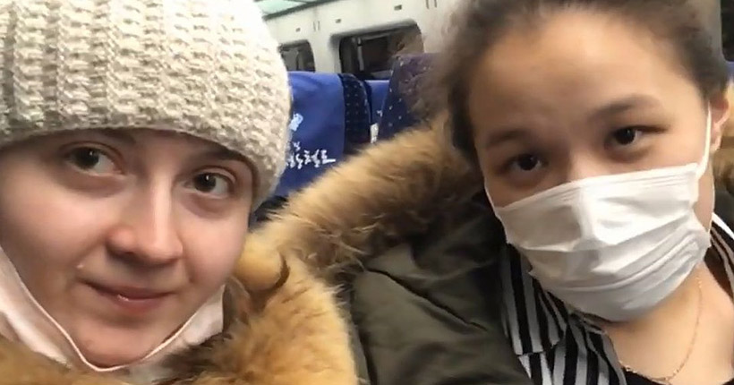 Новосибирские студентки вернулись из Китая, избежав карантина