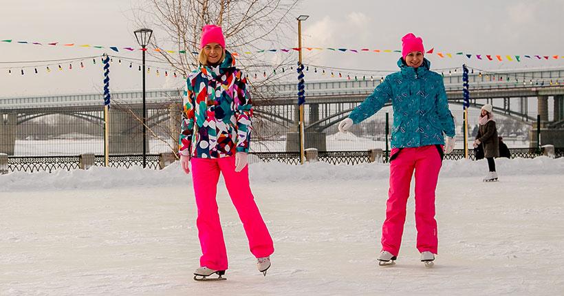 Тёплую и снежную неделю обещают синоптики в Новосибирске