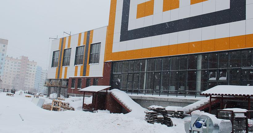 Новая школа откроется в этом году в Калининском районе Новосибирска