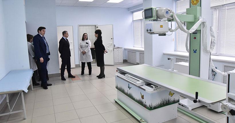 Цифровой рентгеновский комплекс получило детское отделение поликлиники № 22 в Новосибирске