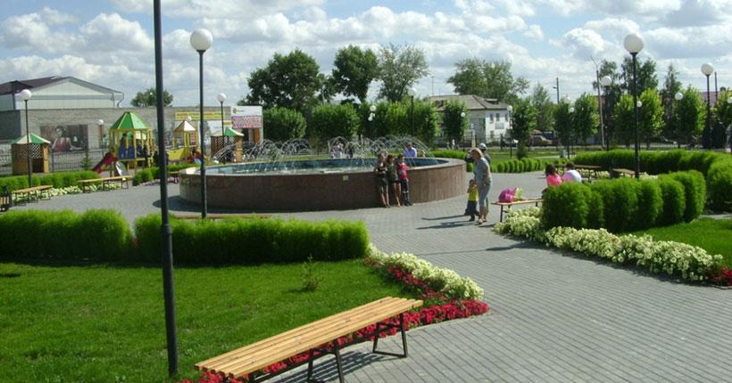Одним из лучших в стране стал проект благоустройства в Купино Новосибирской области