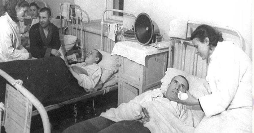 Новосибирцев приглашают посетить эвакуационный госпиталь времён ВОВ