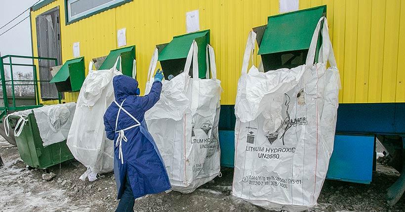 2 марта на Гусинобродском полигоне заработали две первые мобильные установки, сортирующие мусор