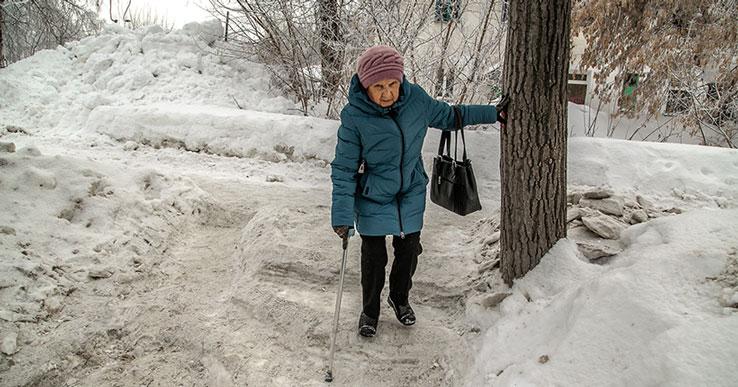 Как рыбы об лёд: в Новосибирске бьются люди