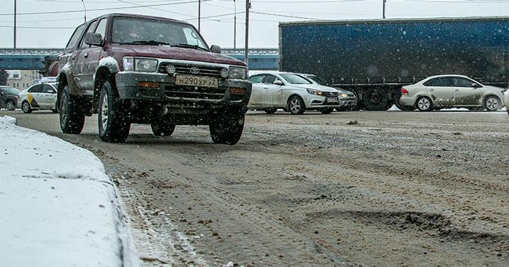 Роман Дронов пообещал большие разрушения на новосибирских дорогах
