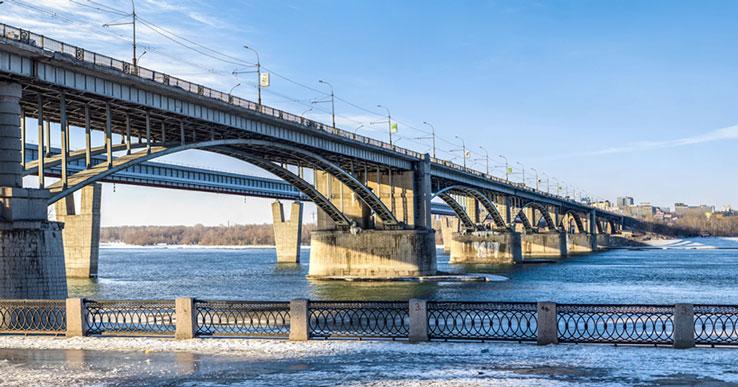 Коммунальный мост в Новосибирске могут закрыть в 2021 году