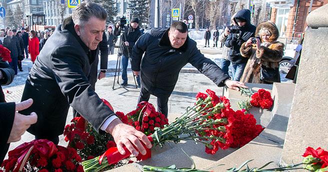 Александр Покрышкин: как почтили память Героя в Новосибирске