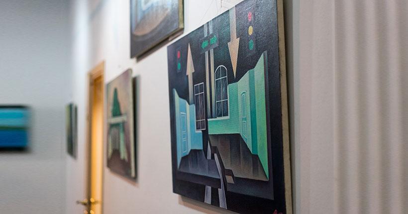 В театре «Глобус» открылась экспозиция, посвящённая творчеству известного сценографа Владимира Авдеева