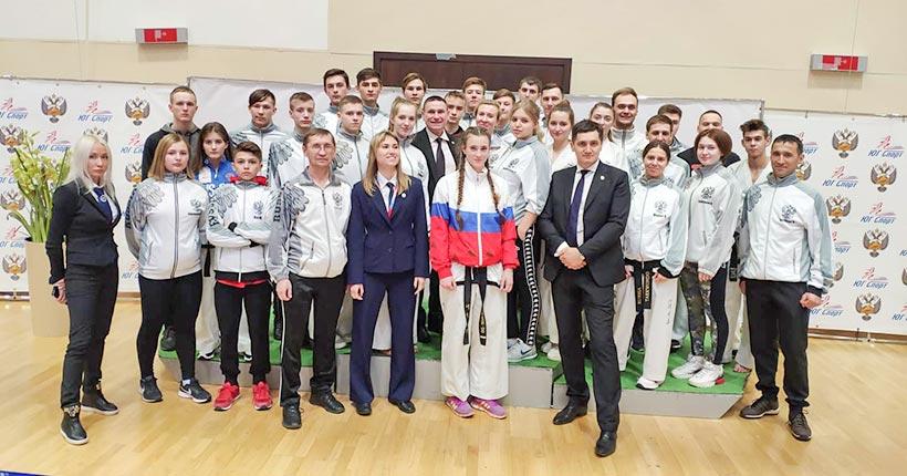 Новосибирские тхэквондисты вошли в тройку сильнейших команд России