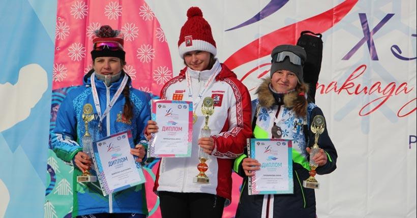 Новосибирские лыжники стали вторыми на Спартакиаде учащихся России