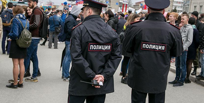 В Новосибирске по горячим следам задержан подозреваемый в убийстве