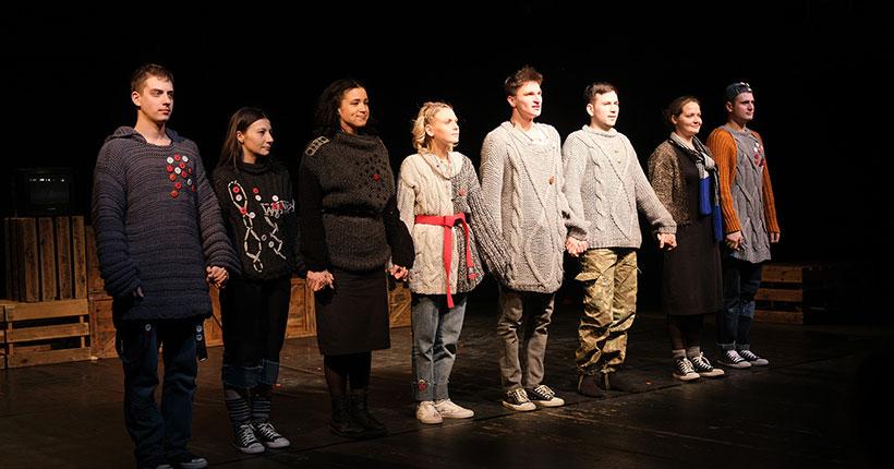 «Первый театр» показал спектакль «Воин» на фестивале «Золотая Маска»