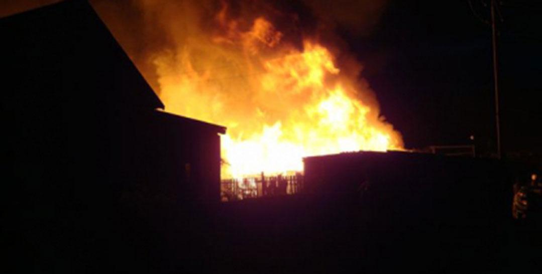 В Искитиме в пожаре погибли три человека