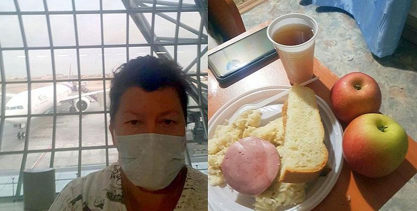 Пассажирка рейса из Таиланда рассказала подробности жизни в обсервации Новосибирска