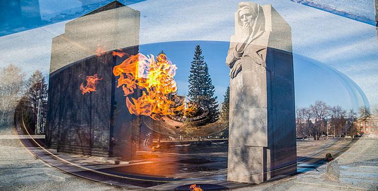 Да не погаснет пламя! В Новосибирске отреставрируют двухтонную чугунную чашу Вечного огня