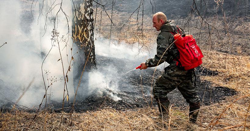 Много дыма и огня
