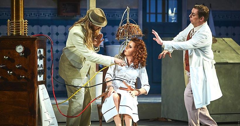 Оперу о знаменитом пройдохе Фигаро Новосибирского оперного покажут на сайте «Культура.РФ»