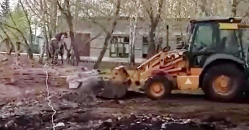 Новосибирский депутат: ситуация со сносом памятника героям похожа на провокацию