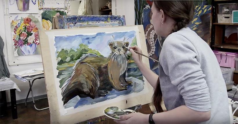 Рисовать вместе предлагает Новосибирский художественный музей