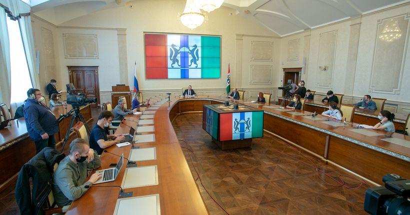 Больницы и стройки: в Новосибирской области выявлено шесть больших очагов заражения COVID-19