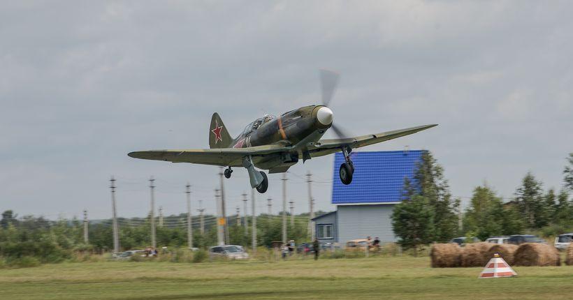 Восстановленный в Новосибирске МиГ-3 военного времени совершил тренировочный полёт над Новосибирском