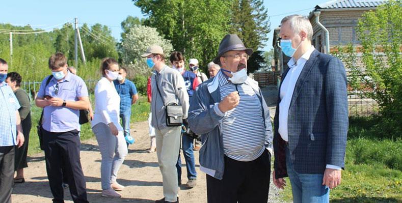 В Новотырышкино Новосибирской области ждут пополнения