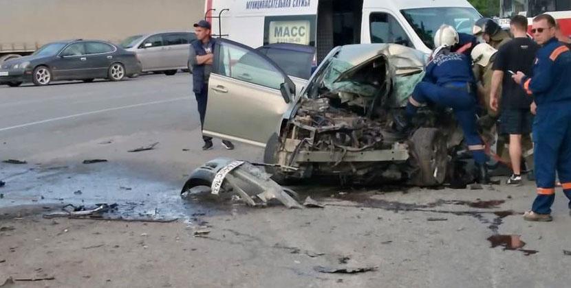 Страшное ДТП со смертельным исходом произошло в Новосибирске