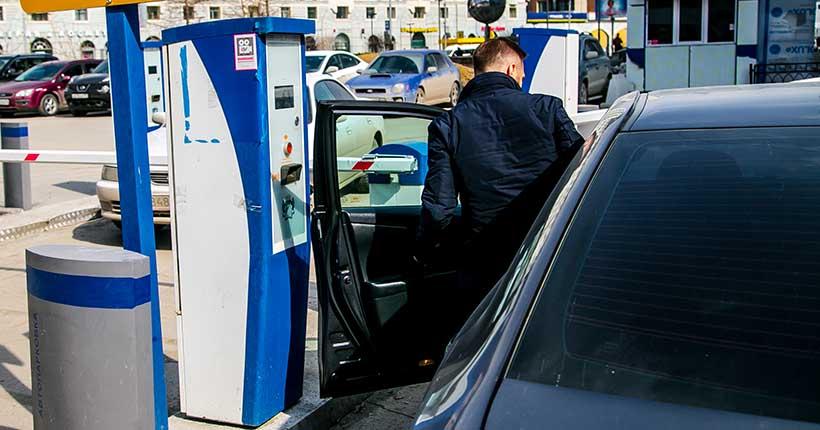 Парковки вдоль Красного проспекта начнут работать на платной основе в Новосибирске