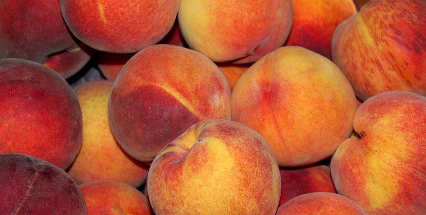 Жители Новосибирска уже едят первые три тонны узбекских персиков