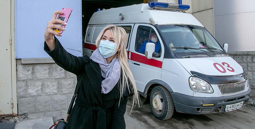 Более 70 процентов заболевших коронавирусом в Новосибирской области не соблюдали масочный режим