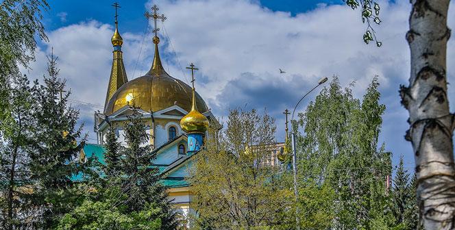 28 мая — престольный праздник Вознесенского кафедрального собора