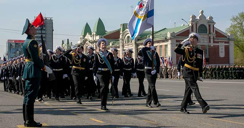В каком формате парад Победы пройдёт в Новосибирске