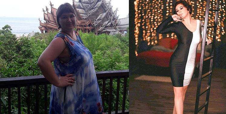 Девушка из Новосибирска за пять месяцев смогла избавиться от 30 кг