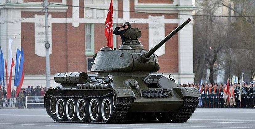 В Новосибирске стали известны дата проведения парада Победы и его участники