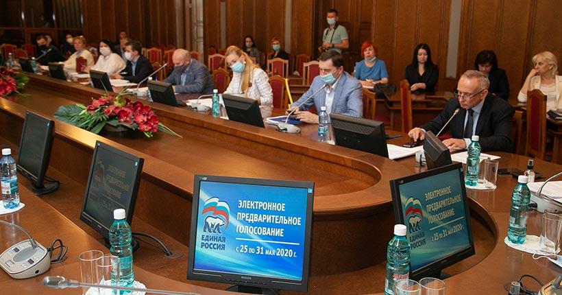 Названа первая тройка партийного списка «Единой России» на выборах в Новосибирской области