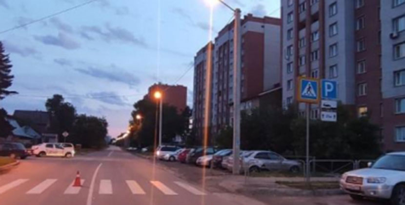 Полиция Новосибирской области разыскивает водителя, сбившего ребёнка на пешеходном переходе