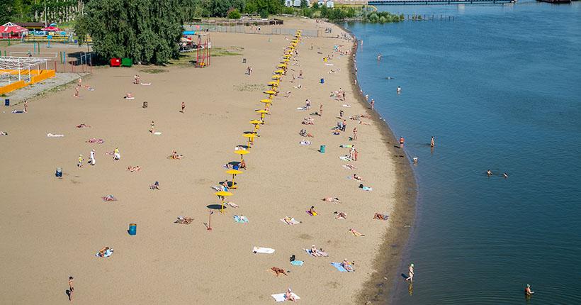 Пять пляжей готовятся к открытию в Новосибирске