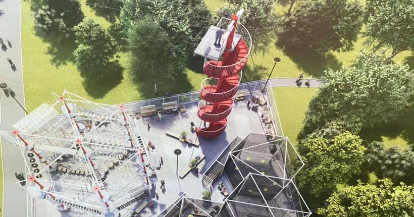 Тарзанка нового поколения появится в одном из парков Новосибирска