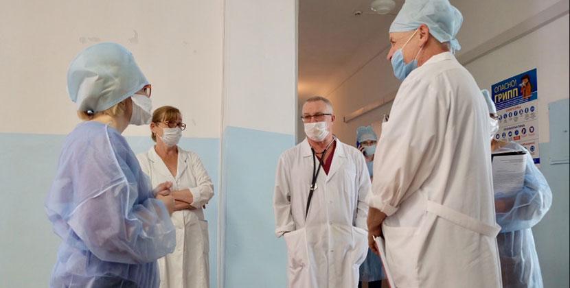 В городской больнице Искитима Новосибирской области обнаружены нарушения санэпидрежима