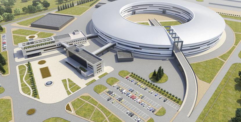 Минстрою региона представили концепцию внешнего вида ЦКП «СКИФ» Новосибирского научного центра