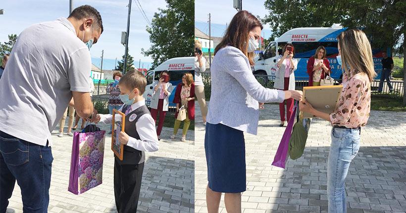 Депутаты заксобрания Новосибирской области наградили победителей конкурсов «Моё село! Мои идеи!» и «Я рисую Победу!»