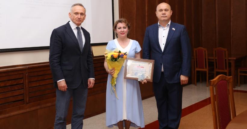 Врачей наградили накануне Дня медицинского работника