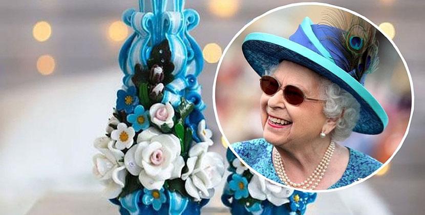 Королева Елизавета II заказывает свечи с розочками у жительницы Новосибирской области